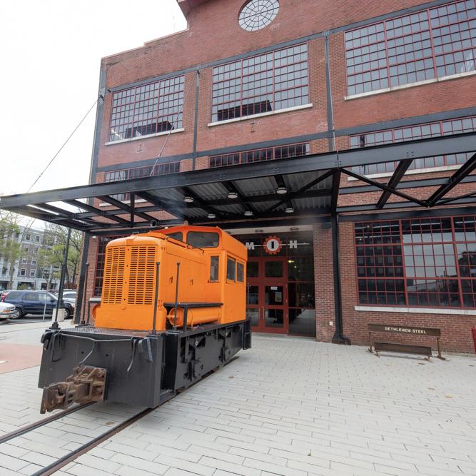 Restoration Highlight: 1941 Bethlehem Steel Whitcomb Narrow Gauge Locomotive